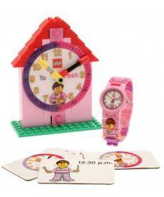 Набір годинників для дівчинки (наручний та наст.)