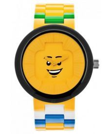 """Годинник наручний """"Лего """"Смайл"""", жовтий, зі змінни"""
