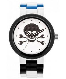 """Годинник наручний """"Лего """"Череп"""", білий, зі змінним"""
