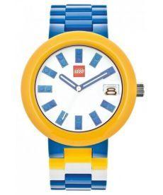 """Годинник наручний """"Лего """"Кубик"""", синій, зі змінним"""