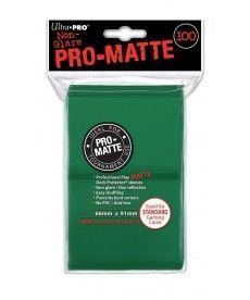 Настольная игра ПРОТЕКТОРЫ Ultra-Pro (разноцветные, 100 шт., 66мм*91мм):зеленые
