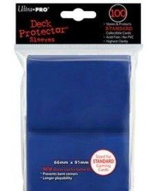 Настольная игра ПРОТЕКТОРЫ Ultra-Pro (разноцветные, 100 шт., 66мм*91мм):синие