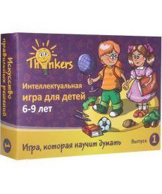 Настольная игра Thinkers 6-9 лет Випуск 1 - Вычисления (рус.)