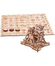 Колесо фортуны (с игрой) (конструктор Wood Trick)