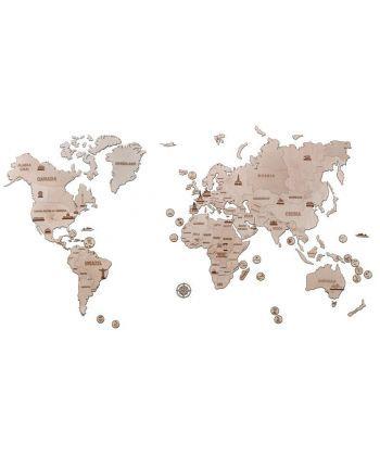 Карта мира (конструктор Wood Trick)