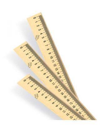Лінійка деревяна (шовкографія) 250мм