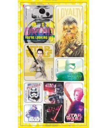 Наліпки у пакеті Дісней Зоряні Війни 7 13163011Р