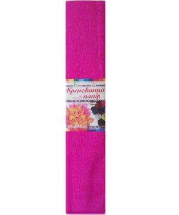 Папір Крепований кольоровий (малиновий) №4, 500мм/2000мм