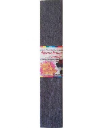 Папір Крепований кольоровий (світло-сірий) №10.1, 500мм/2000мм