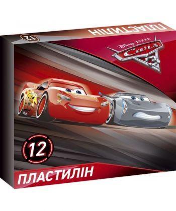 Пластилін ЛІЦ  Серія Cars 3  12 кольорів Ц630017У