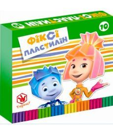 Пластилін ЛІЦ  Серія ФікСікі із воском 10 кольорів Ц715012У