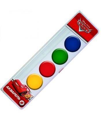 Фарба акварельна медова ЛІЦ  Серія Cars 6 кольорів