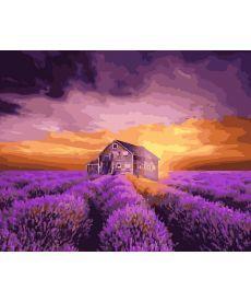 Картина по номерам Лавандовый дом 40х50 см (GX29807)