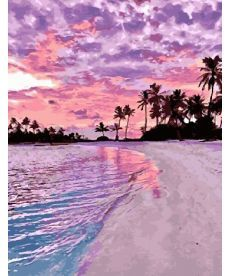 Картина по номерам Розовый закат 40х50 см (GX28241)