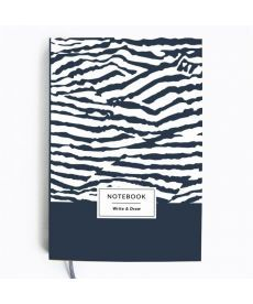 Блокнот Write&Draw Zebra (ТМ Gifty Гифти)