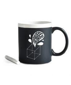 Чашка З Крейдою Keep Looking. White (ТМ Gifty Гифти)