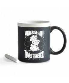 Чашка З Крейдою Get Started. White (ТМ Gifty Гифти)