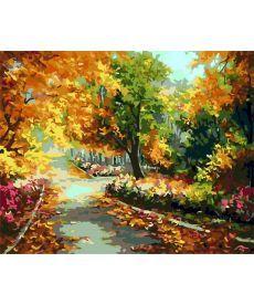 Картина по номерам Середина осени 40 х 50 см (AS0265)