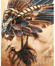 Картина по номерам Охотница 40 х 50 см (AS0560)