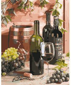 Картина по номерам Вино для гурмана 40 х 50 см (AS0643)