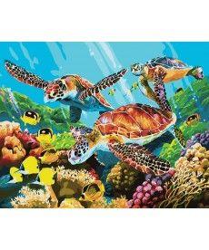 Картина по номерам Подводный мир 40 х 50 см (BK-GX29099)