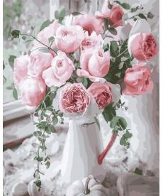 Картина по номерам Нежность роз 40 х 50 см (BK-GX29390)