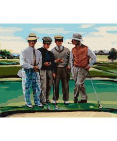 Картина по номерам Партия в гольф 40 х 50 см (BK-GX29723)