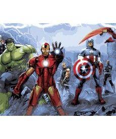 Картина по номерам Команда супергероев 40 х 50 см (BK-GX29816)