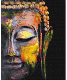 Картина по номерам Разноцветный Будда 40 х 50 см (BK-GX30220)