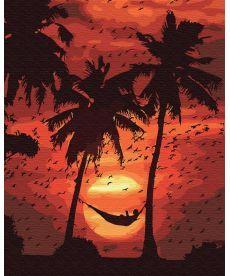 Картина по номерам Отдых на пляже 40 х 50 см (BK-GX30567)