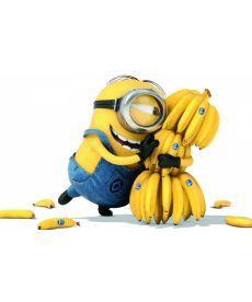 Картина по номерам Миньоны Банана 40 х 50 см (BRM21626)
