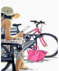 Картина по номерам Велопрогулка 40 х 50 см (BRM23619)