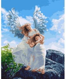 Картина по номерам Объятия ангела 40 х 50 см (BRM27565)