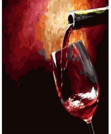 Картина по номерам Бокал вина 40 х 50 см (BRM28075)