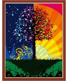 Картина по номерам Дерево счастья 40 х 50 см (CG224)