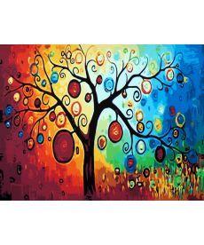 Картина по номерам Дерево богатства 40 х 50 см (CG230)