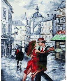 Картина по номерам Танго под дождем 40 х 50 см (GZS1020)