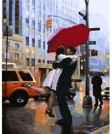 Картина по номерам Пара под зонтом 40 х 50 см (GZS1021)