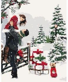 Картина по номерам Приятные подарки 40 х 50 см (KH4634)