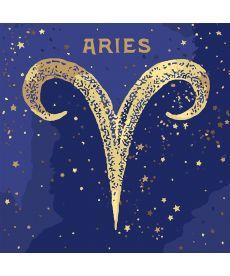 Картина по номерам Знак зодиака Овен (с краской металлик) 50 х 50 см (KH9520)