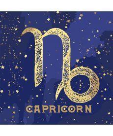 Картина по номерам Знак зодиака Козерог (с краской металлик) 50 х 50 см (KH9522)