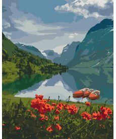 Картина по номерам Красота Норвегии 40 х 50 см (KHO2256)