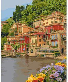 Картина по номерам Набережная Италии 40 х 50 см (KHO2259)
