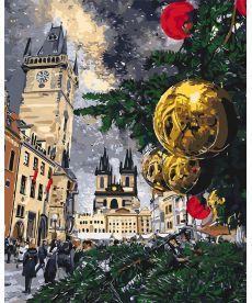 Картина по номерам Рождественские каникулы 40 х 50 см (KHO3562)