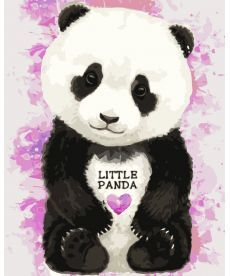 Картина по номерам Маленькая пандочка 30 х 40 см (KHO4023)