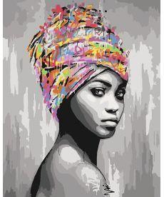 Картина по номерам Африканская красота 40 х 50 см (KHO4587)