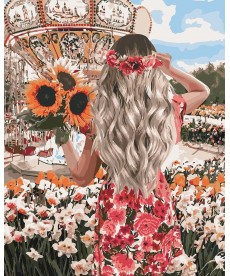 Картина по номерам Волшебные выходные 40 х 50 см (KHO4607)