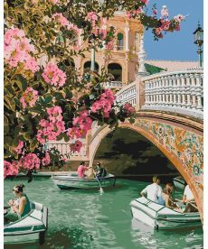 Картина по номерам Романтическая прогулка 40 х 50 см (KHO4612)