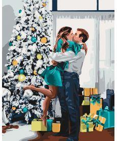 Картина по номерам Новогоднее настроение 40 х 50 см (KHO4637)