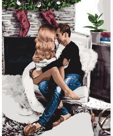 Картина по номерам Праздник для двоих 40 х 50 см (KHO4641)